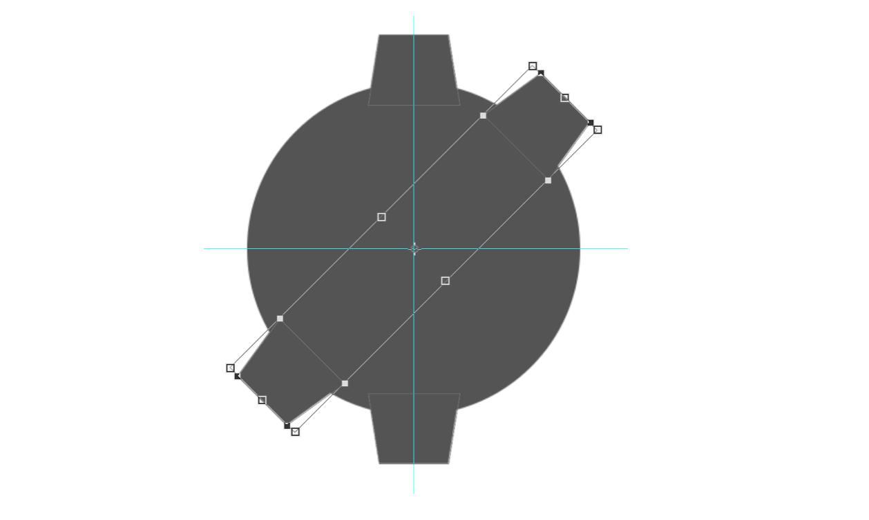 PS机械齿轮图标绘制