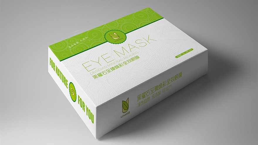 眼膜产品硬包装设计教程图片