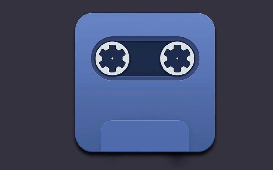 写实录音机-图标制做 分享给朋友: 手机看 免费 难度等级:高级进阶图片