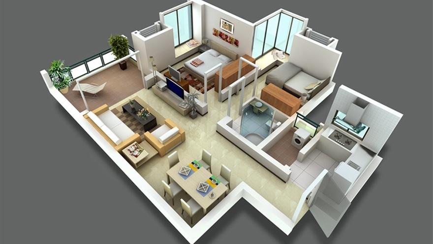 室内/建筑/景观 室内设计 软装/方案 室内方案:小户型方案优化专题篇